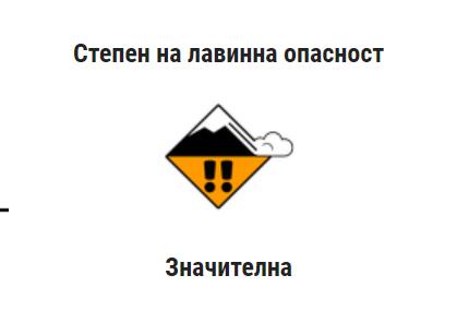 Актуална лавинна обстановка в Българските планини
