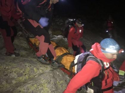 През изминалата нощ ПСС при БЧК проведе тежка спасителна акция в Пирин